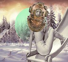 Beautiful winter spirit by kikicollagist