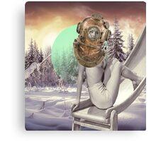 Beautiful winter spirit Canvas Print