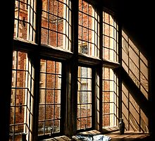 Blicking Hall Window, Norfolk, UK by Simon Duckworth