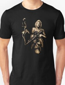 Marilyn Monroe Machine Gun Gangster T-Shirt