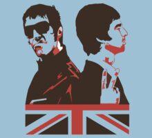 Oasis, Liam & Noel Gallagher, Britpop Kids Clothes