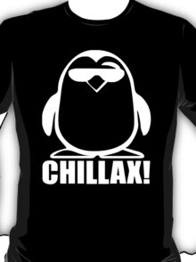 PENGUIN CHILLAX funny T-Shirt