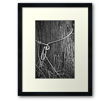 Sorry, I'm tied up right now.. Framed Print