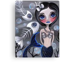 """My Skellyfish Friends"" Canvas Print"