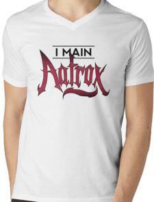 I Main Aatrox Mens V-Neck T-Shirt
