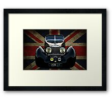 Union Jack Squire Framed Print