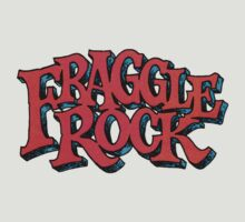 Fraggle Rock - Vintage style in RED Muppet  by NoirGraphic