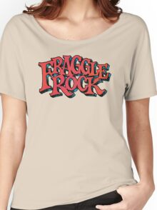 Fraggle Rock - Vintage style in RED Muppet  Women's Relaxed Fit T-Shirt