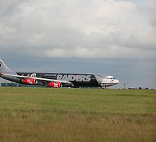 9M-XAC Oakland Raiders A340 by J0KER