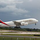 Emirates A380 by J0KER