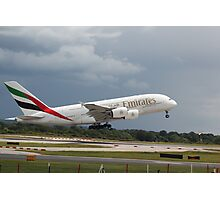 Emirates A380 Photographic Print