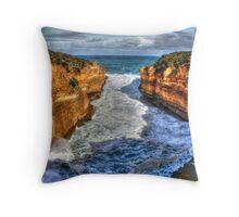 Thunder Cave Throw Pillow