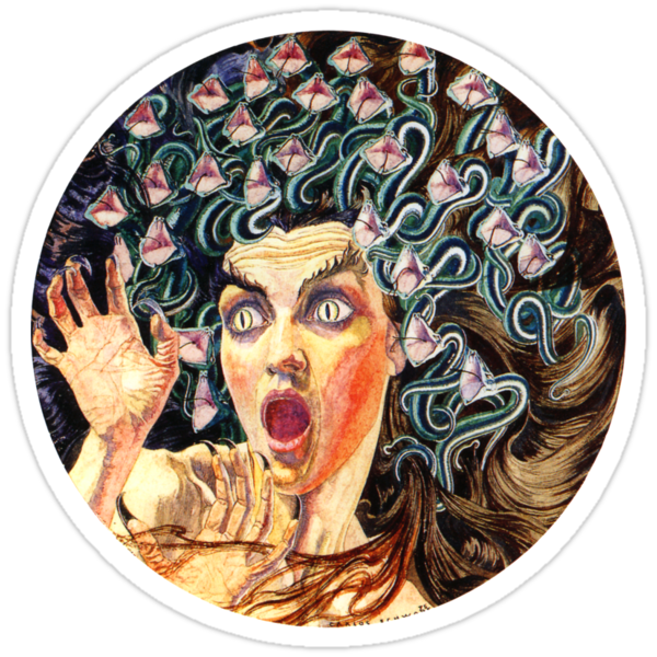 Medusa - Carlos Schwabe 1895 by Hedrin
