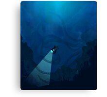 Deep Sea Exploration Canvas Print