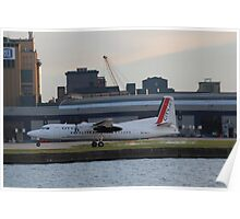 OO-VLY F:50 Cityjet Poster