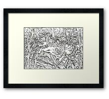 Forest of the Dwellers Framed Print