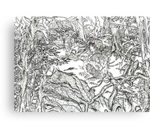 Forest of the Dwellers Canvas Print