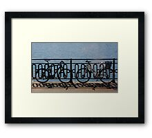Wheel to Wheel Framed Print