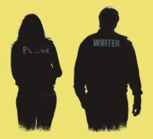 A Writer & His Muse Kids Tee