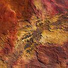 rock patterns at gantheaume point, broome by col hellmuth