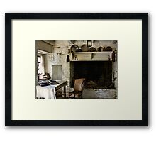 Supper for One Framed Print