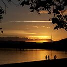 Lake Burley Griffin Sunset. by shortshooter-Al