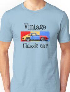 Vintage classic car Unisex T-Shirt