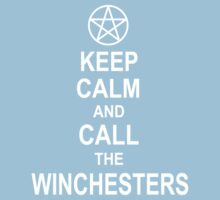 Keep Calm And Call The Winchesters Kids Clothes