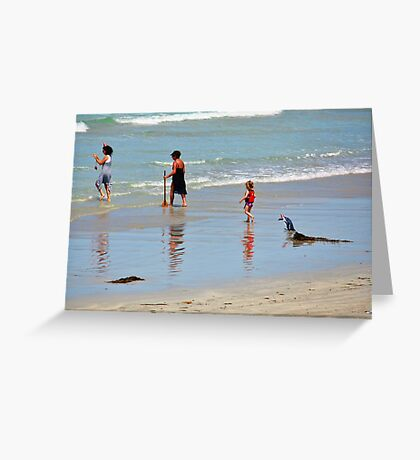 ~ Follow the Leader ~ Greeting Card