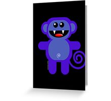 MUNKEY 1 Greeting Card