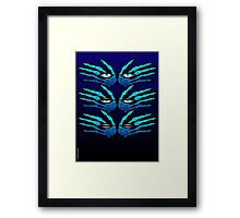 ALL SEEING EYES Framed Print