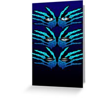 ALL SEEING EYES Greeting Card
