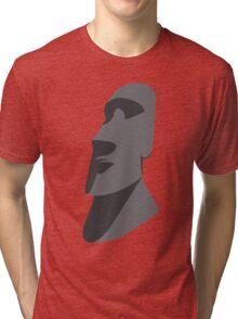 Easter Island Head  Tri-blend T-Shirt