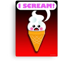 ISCREAM Canvas Print
