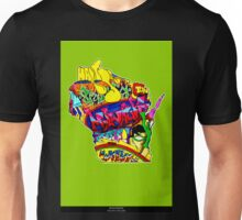 Wisconsin State, includes colorful Wisconsin State icons Unisex T-Shirt