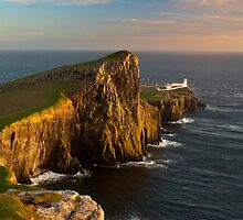 Neist Point Lighthouse by SnippsWhispers