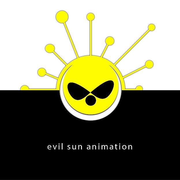 Evil sun animation by david-levi