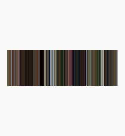 Moviebarcode: Madagascar (2005) [Simplified Colors] Photographic Print