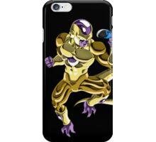 Gold Frieza Vs Super Saiyan God Goku iPhone Case/Skin