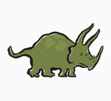 triceratops by greendeer