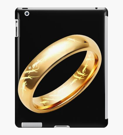 Reptile Ring to Rule Them All iPad Case/Skin