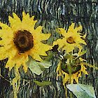 Sunflowers by Gilberte