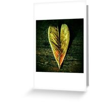 Blossoming heart Greeting Card