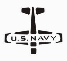 U.S. NAVY Stamp (Black) by warbirdwear