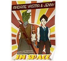Madame Vastra & Jenny Poster
