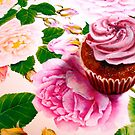 Cupcakes and Roses by  Janis Zroback