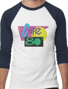 Back To The Cafe 80's Men's Baseball ¾ T-Shirt