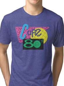 Back To The Cafe 80's Tri-blend T-Shirt