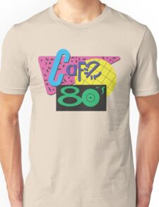 Back To The Cafe 80's Unisex T-Shirt