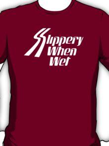Bon Jovi Slippery when wet rock band T-Shirt